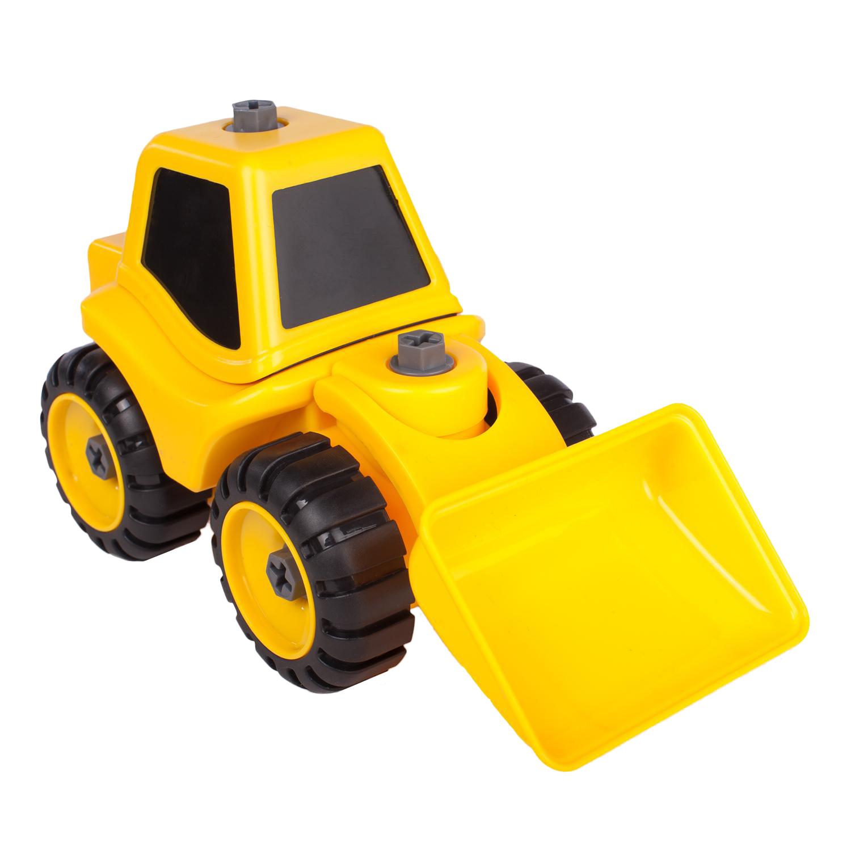 kaili toys Набор трактор с ковшами и катком, Kaili Toys (KL716-2)