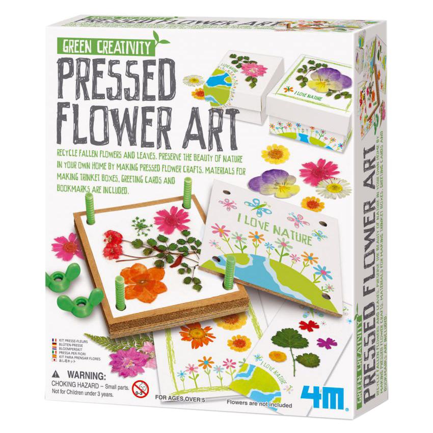 4М Набор для творчества Цветочное искусство, 4М (00-04567)