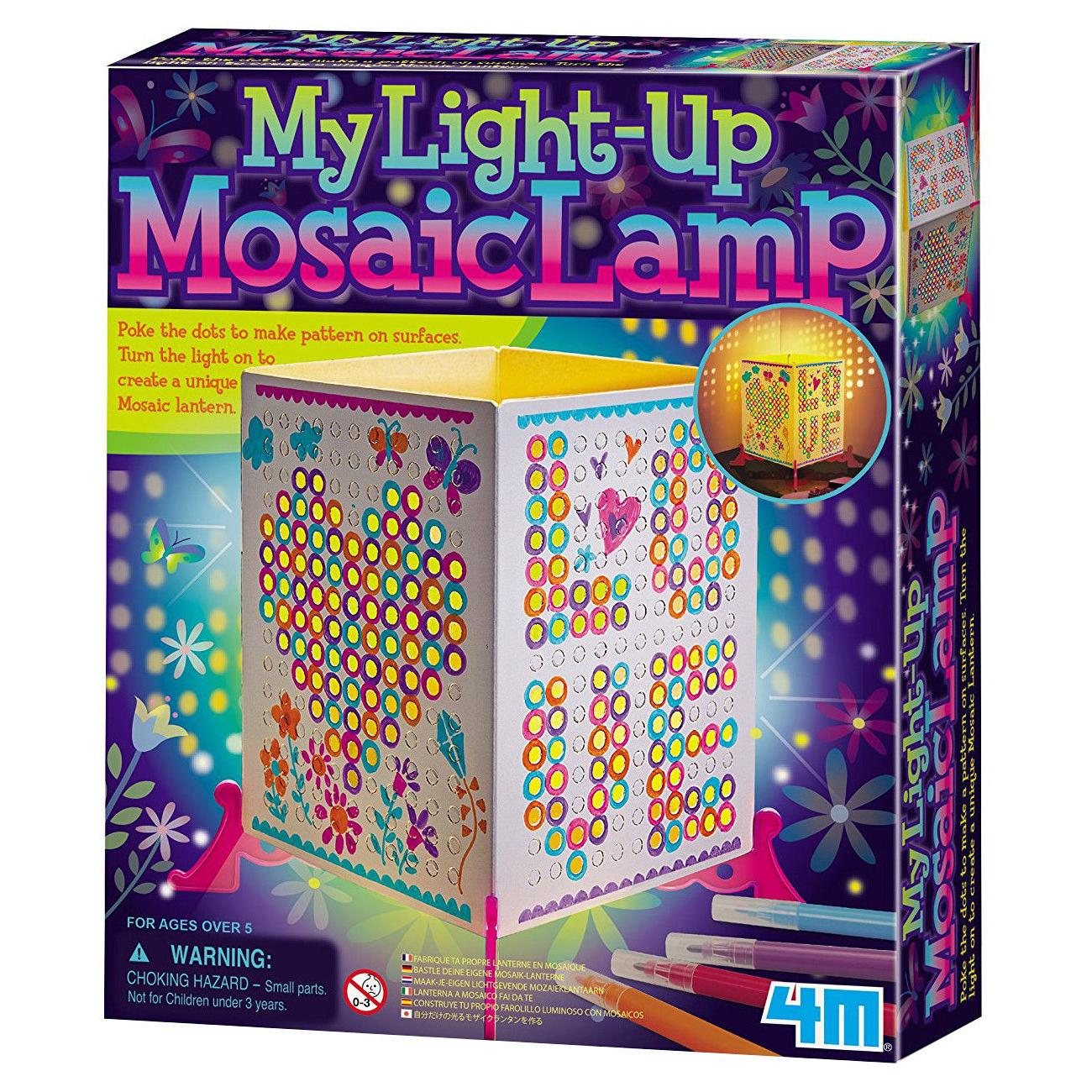 4М Набор для творчества Лампа-мозаика, 4М (00-04618)